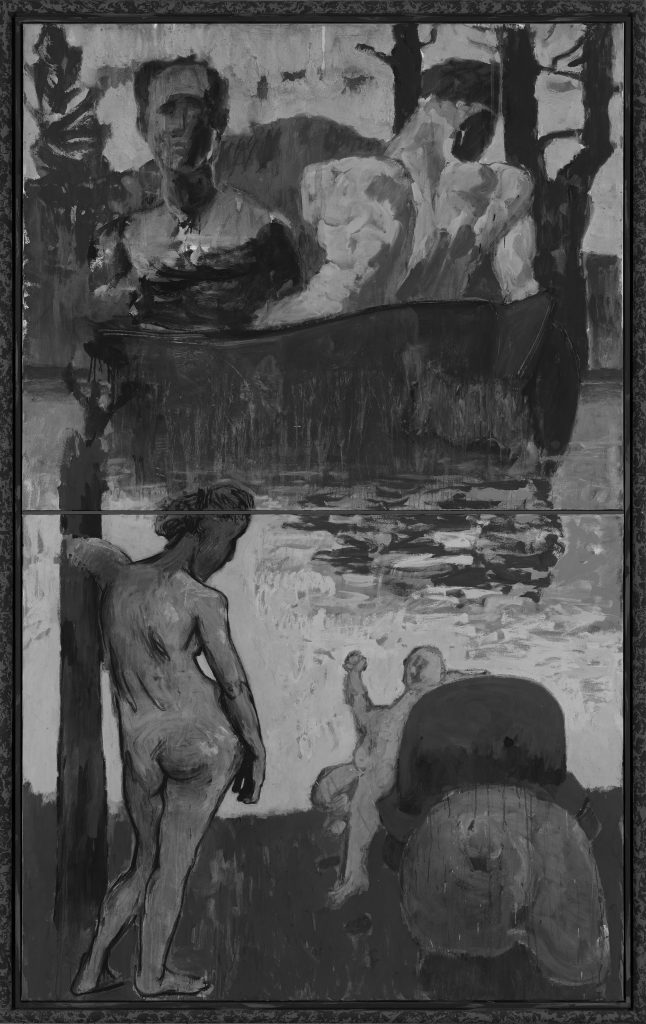 Markus Lüpertz, Untitled, 2013. Michael Werner Gallery, Märkisch Wilmersdorf, New York and London. 马库斯•吕佩尔茨《无题》2013. 马塞尔•沃那画廊,Märkisch Wilmersdorf, 纽约,伦敦。