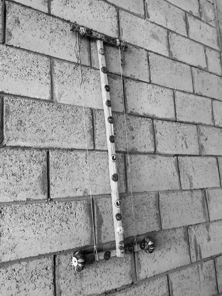 《只是现实之物》(细部),艾曼•拉马丹,温斯顿镇公所,2015. 图片:米雅•让科维奇 Mere Real Things (detail), by Ayman Ramadan at Townhouse West 2015. Image: Mia Jankowicz.