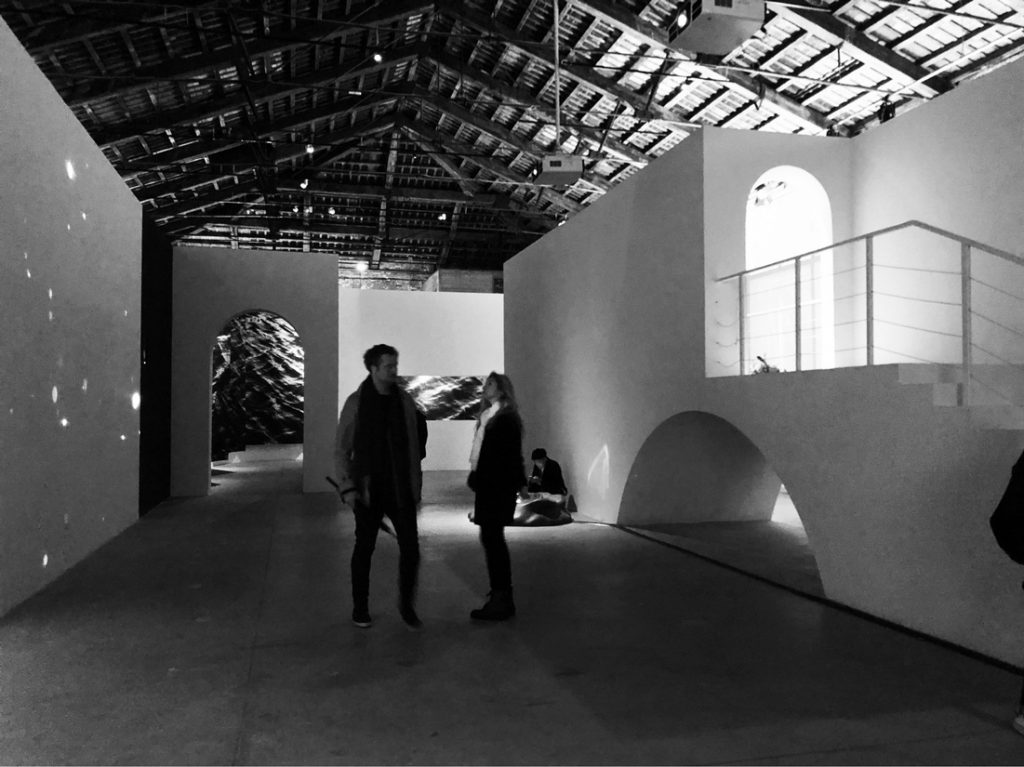 Exhibition space, China Pavilion, Venice Biennale, 2019. Photo: Shi Yue. 展览空间,中国馆,2019威尼斯双年展,摄影:施越